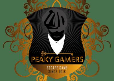 Création Graphique pour EscapeGame Peaky Gamers