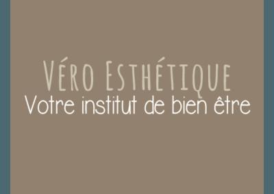 Creation Graphique & gestion site web pour VERO ESTHETIQUE