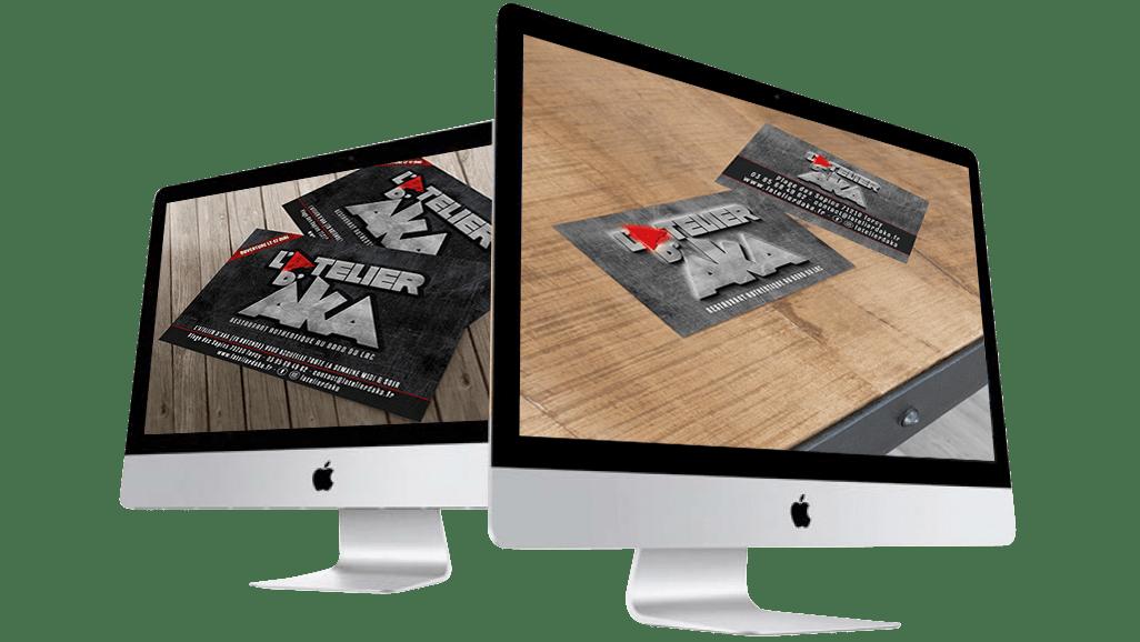Oliweb concept conception graphique pour l'atelier d'aka
