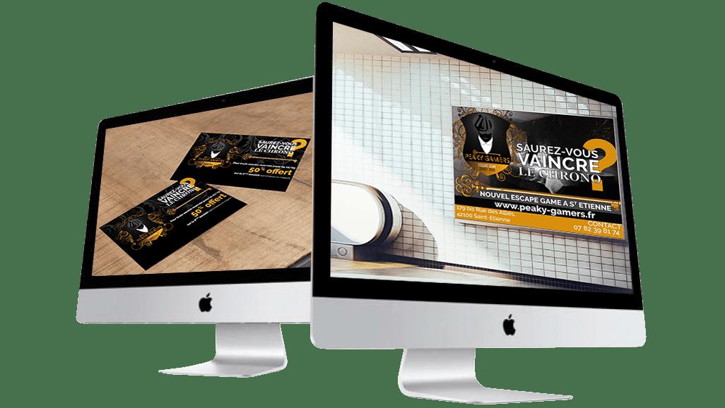 Oliweb concept Conception graphique de flyers et affiche pour publicite urbaine