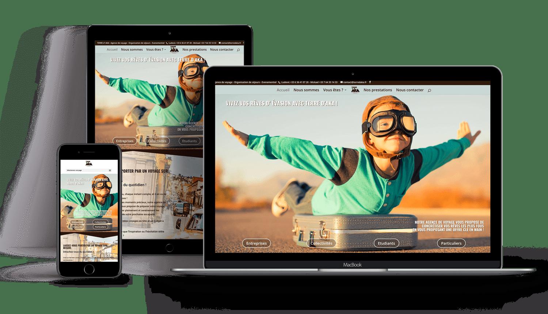 Oliweb concept développement web pour terre d'aka