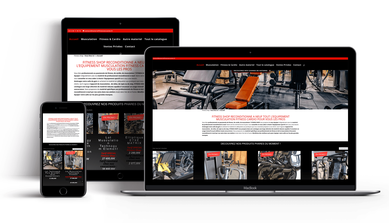 Catalogue en ligne Fitness Shop