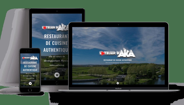 Oliweb concept développement web pour l'atelier d'aka
