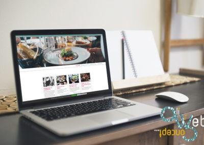 Création Graphique & site internet pour le restaurant du lac Nernier